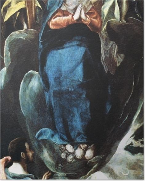 Poster El Greco - Inmaculada Concepción (Unbefleckte Empfängnis) - Reproduktion