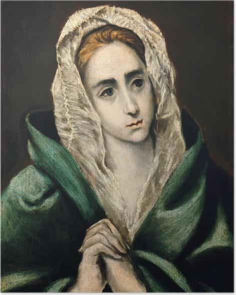 Poster El Greco - Mater Dolorosa - Reproduktion