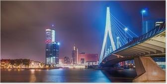 Poster Erasmus Brug Rotterdam