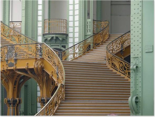 Poster Escalier intérieur du Grand Palais, Paris • Pixers® - Wir ...