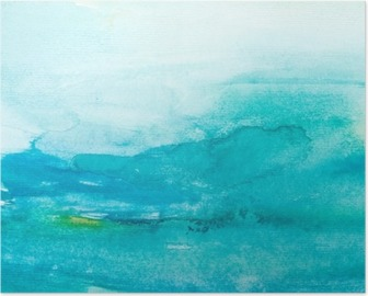 Poster Farbstriche Aquarell, Malerei, Kunst