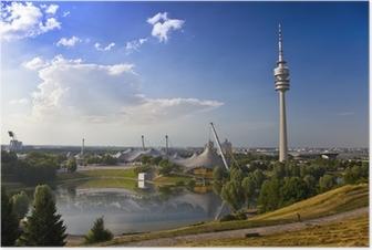 Poster Fernsehtum von München im Olympiapark