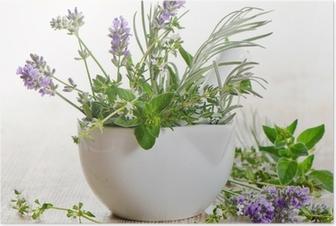 Poster Fresh herbs