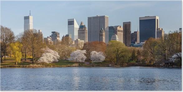 Poster Frühling im Central Park, New York City • Pixers® - Wir leben ...