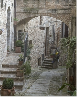 Poster Gasse a Spello