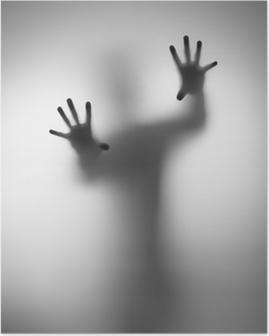 Poster Geister Hand