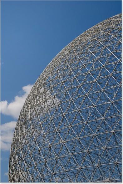 Geodätische Kuppel poster geodätische kuppel aspekt pixers wir leben um zu verändern