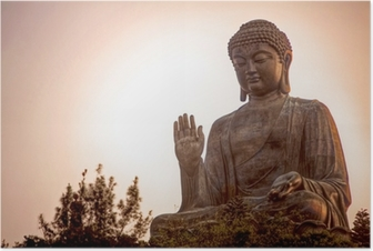 Poster Giant Buddha