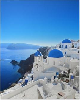 Poster Griechenland - Santorini (Oia Dorf)