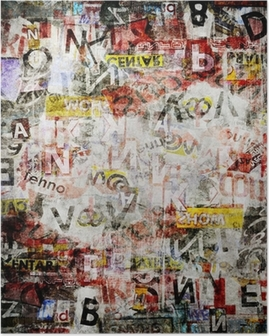 Poster Grunge Textured Background