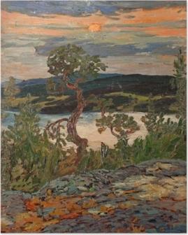Poster Helmer Osslund - Abend in Ångermanland