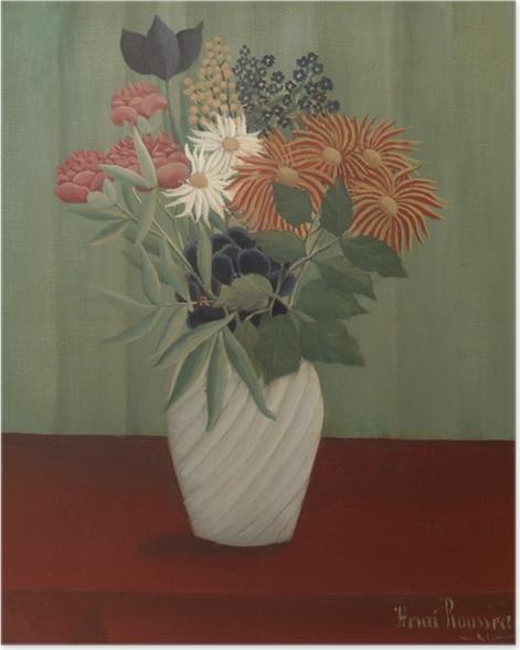 Poster Henri Rousseau - Blumenstrauß - Reproduktion