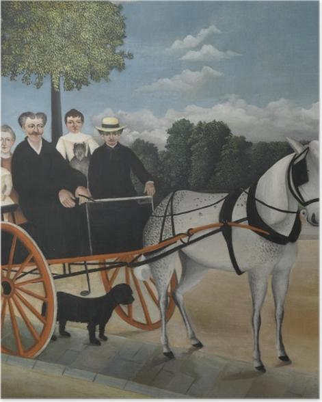 Poster Henri Rousseau - Die Kutsche von Père Junier - Reproduktion