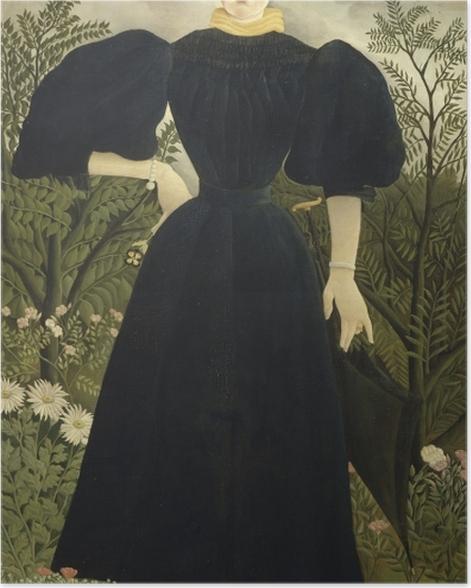Poster Henri Rousseau - Frauenbildnis - Reproduktion
