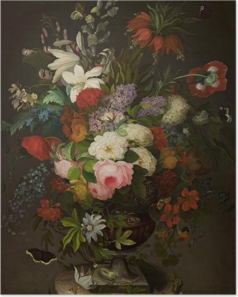 Poster Henryka Beyer - Blumen in der Vase - Reproductions