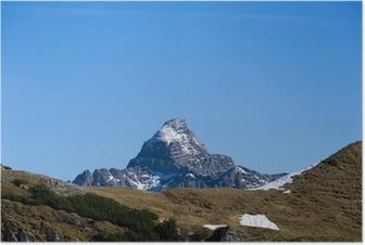 Poster Hochvogel - Allgäuer Alpen - Deutschland