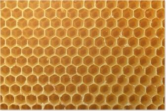 Poster Honeycomb Hintergrund