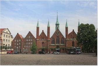 Poster Hospital zum Heiligen Geist in Lübeck