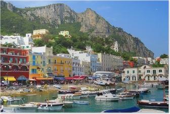 Poster Ile de Capri, Italien, Europa