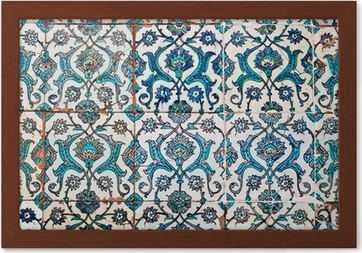 Carta da parati piastrelle decorate stile arabo u2022 pixers® viviamo
