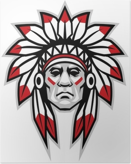 Poster Indian chief