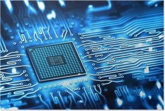 Poster Integrierten Mikrochip