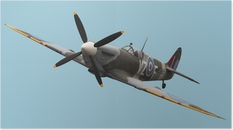 Poster Isolated Spitfire