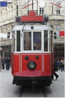 Poster Istanbul pubblico Tram