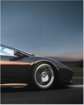 Poster Italienische Sportwagen