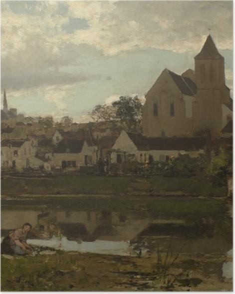 Poster Jacob Maris - Blick auf Montigny - Reproductions