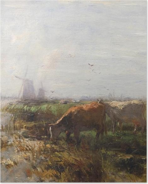 Poster Jacob Maris - Weide - Reproductions