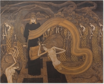 Poster Jan Toorop - Fatalismo