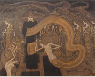 Poster Jan Toorop - Fatalismus