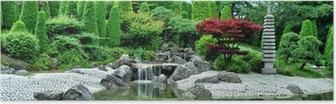 Poster Japanischer Garten