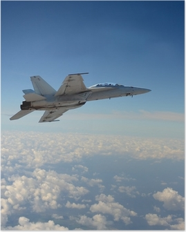 Poster Jetfighter im Flug