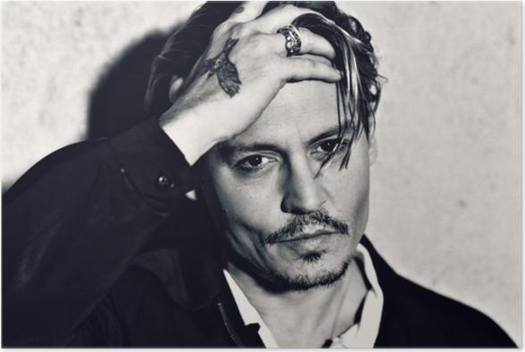 Poster Johnny Depp - Criteo