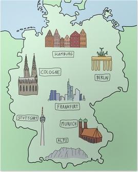 Deutschland Karte Mit Sehenswurdigkeiten My Blog
