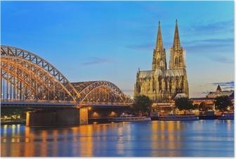Poster Kölner Dom, Köln, Deutschland