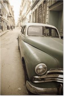 Poster Kubanische Oldtimer