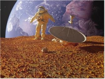 Poster L'astronauta