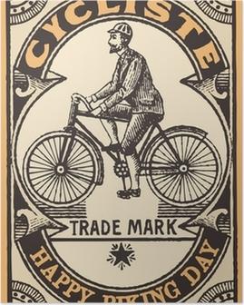 Poster Le Cycliste