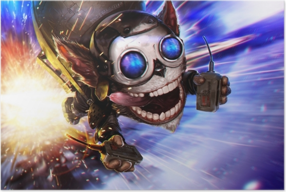 Poster League of Legends - Themen