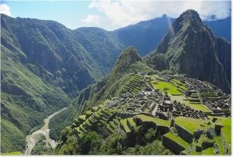 Poster Machu Picchu (Peru)