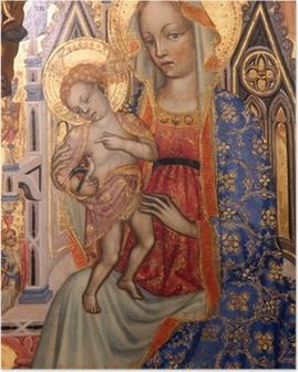 Poster Madonna con Bambino