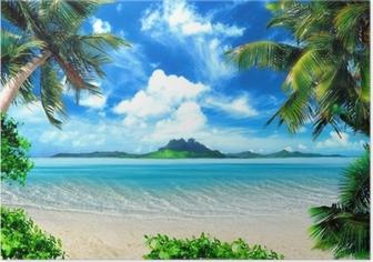 Poster Magische Küste