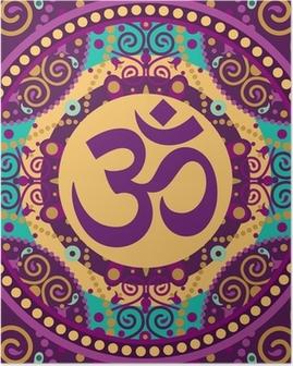 Poster Mandala Ohm