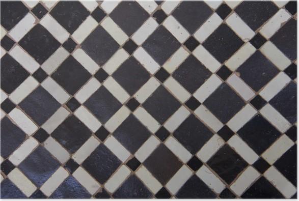 Poster marocchina zellige tile pattern u2022 pixers® viviamo per il