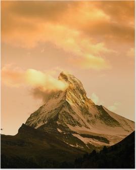Poster Matterhorn, Zermatt