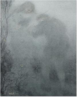 Poster Matthijs Maris - Personaggi nel bosco