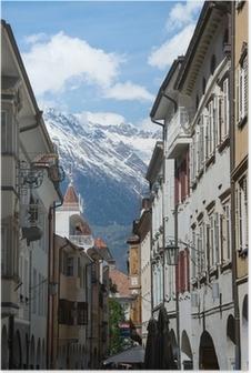 Poster Meran, Südtirol, Italien